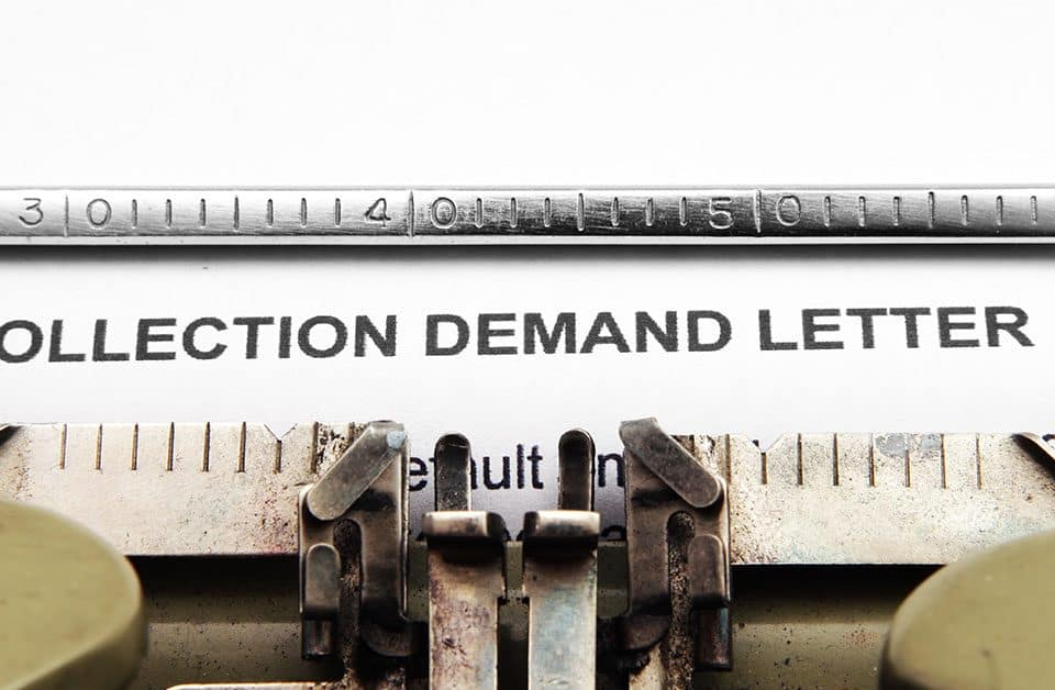 collection demand letter