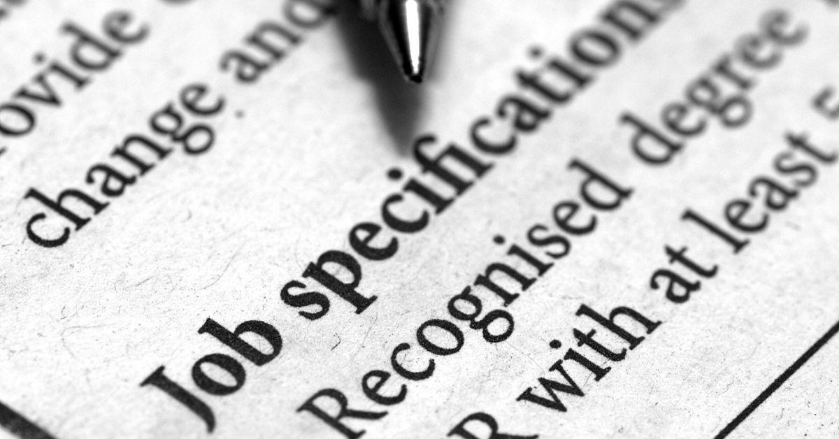 job specific contract